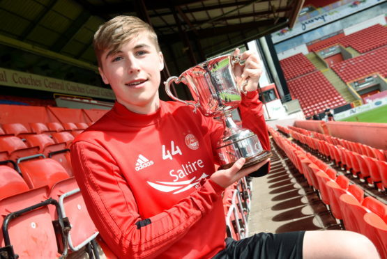 Aberdeen boss Derek McInnes tips Dons starlet Dean Campbell for a big future