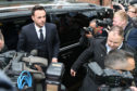 Anthony McPartlin, one half of the television presenting duo Ant and Dec, appears in court charged with drink-driving following a three car collision on March 18 2018.  Photo by Neil P. Mockford/GC Images.