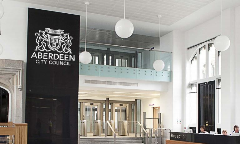 new logo set for aberdeen city council press and journal