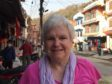 Anne Attenburrow, a retired minister from Elgin, during her trip to Nepal.
