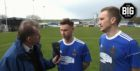 Dave Edwards spoke to Cove Rangers striker Mitch Megginson and captain Eric Watson.