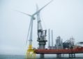 Aberdeen Offshore Wind Farm first turbine installation.