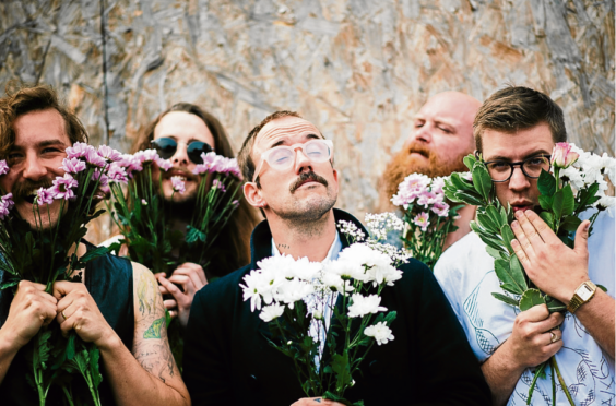 Idles bring their version of laughter and singing to Inverness and Aberdeen