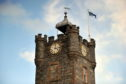 The clock on the Dufftown Clock Tower was previously stuck at 3.03.