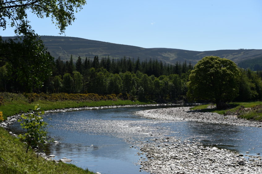 The River Dee, Ballater