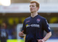 Scott Boyd in action for Ross County