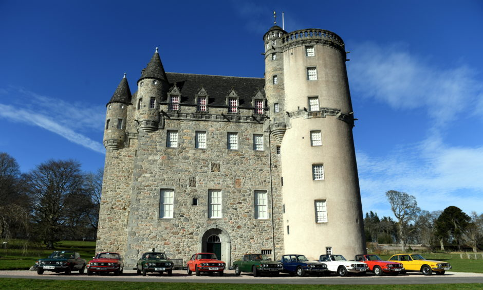 Another view of Castle Fraser
