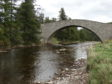 The Gairnshiel Bridge regularly suffers damage from being hit by vehicles.