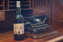 The rare bottle lay undiscovered for decades until it was found at the back of a laundry cupboard.