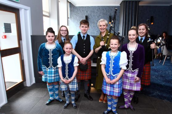 Pipers Set In Motion Lead Up To Highland Festival Press