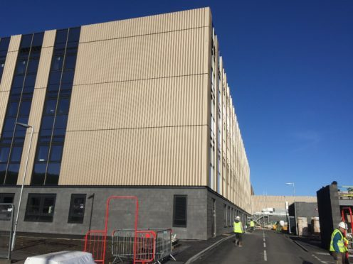 The new Oban High School