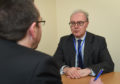Pictures show Lord Advocate, James Wolffe in an interview with Press and Journal's Alistair Munro.