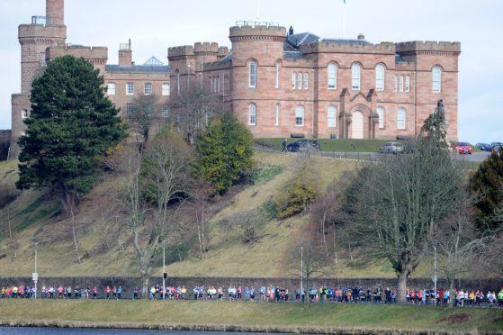 Inverness Castle.