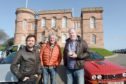 'The Grand Tour' with Richard Hammond, James May and Jeremy Clarkson finished their North Coast 500 filming at Inverness Castle yesterday.