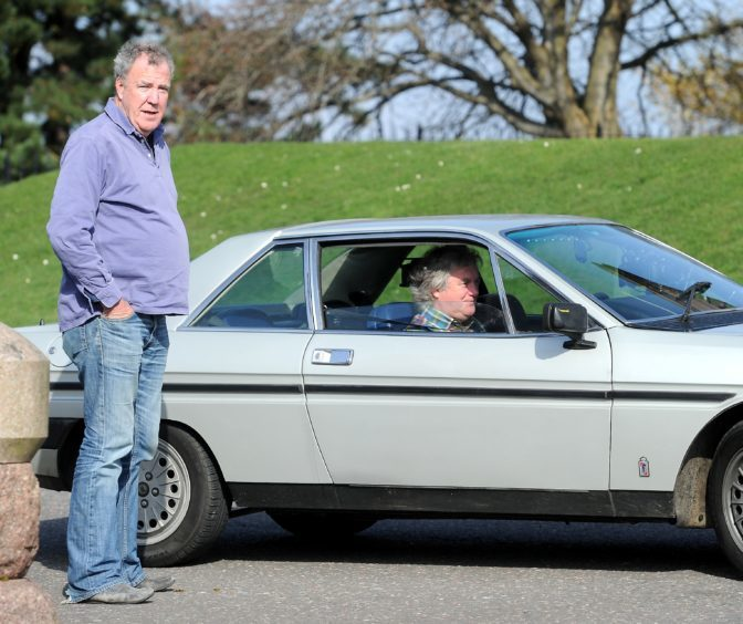 Clarkson and May plot their next move.