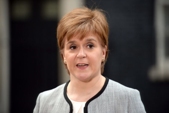 Nicola Sturgeon made the announcement at the Scottish Tourism Alliance (STA) annual conference.