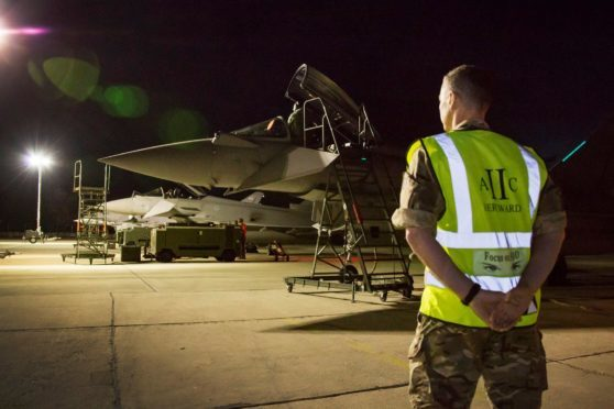 The Typhoons from RAF Lossiemouth will be in Romania until September.