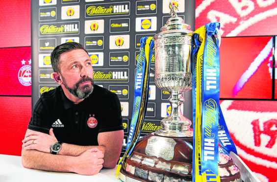Aberdeen will play either Kilmarnock or Rangers on Sunday March 3.