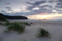 Sandwood Bay.