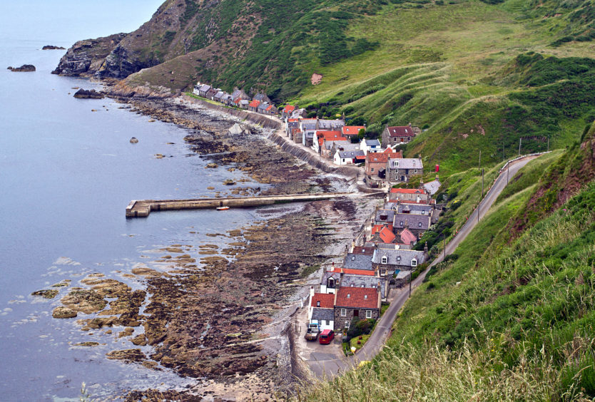 Another view of Crovie