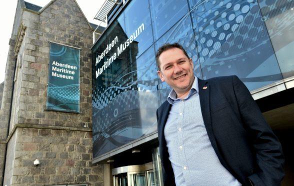 Aberdeen Council co-leader Douglas Lumsden at Aberdeen Maritime Museum.