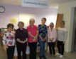 The volunteer team who help as community receptionists at Tain Health Centre