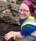 Aberdeen University architecture students' visit to Burghead fort near Lossiemouth