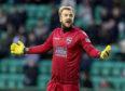 Ross County goalkeeper Scott Fox.