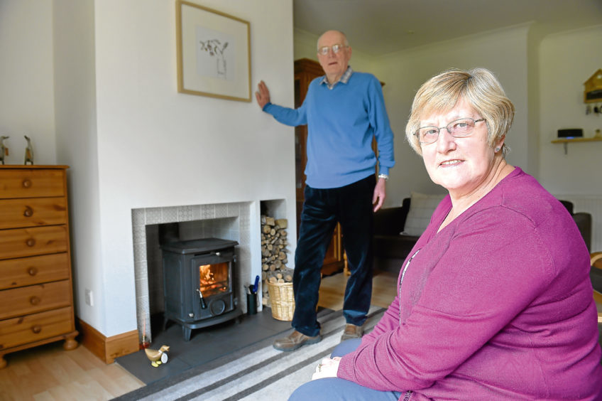 David and Anne Watson designed their own house 18 years ago