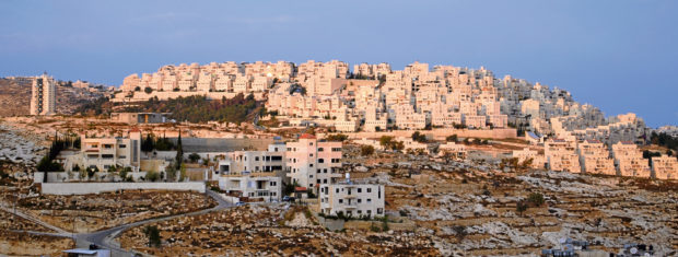 View of Har Homa from Palestine