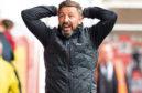 Aberdeen manager Derek McInnes hit back at Craign Levein.