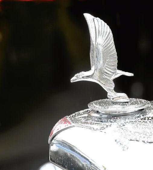 The Alvis emblem