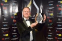Chevron's Alex Yelland with the 2017 large company of the year award