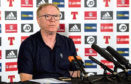 Scotland manager Alex McLeish speaks to press after announcing his squad for the tour of Mexico and Peru