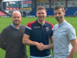 Ross County Football Club is delighted to announce it signed Iain Vigurs on a two-year deal.