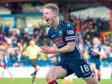 Ross County's Jamie Lindsay celebrates scoring the opening goal
