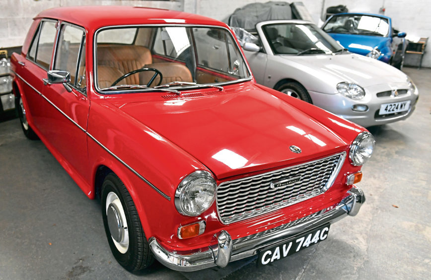 Derek's 1965 Austin 1100 which dates from 1965
