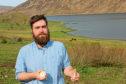 Ben Oakes, of the Isle of Skye Seaweed Company.