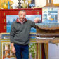 Artist Jack Morrocco enjoys a long-standing relationship with Rendezvous Gallery in Aberdeen