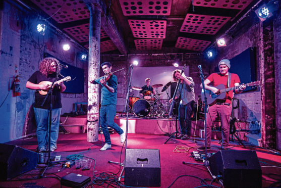Highland band Elephant Sessions are on a UK tour and can't wait to play Inverness venue The Ironworks tomorrow