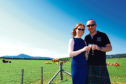Neil and Katie Sime of Blackford Craft Distillery