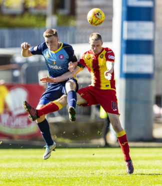 A tribunal will decide how much Aberdeen will pay Hamilton for Lewis Ferguson (left)