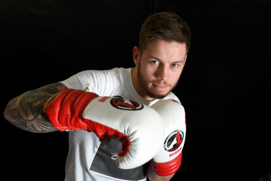 Aberdeen boxer Dean Sutherland, who has his third pro contest on Thursday.