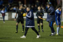 Peterhead manager Jim McInally has a patched-up squad for their League 1 play-off decider with Stenhousemuir.