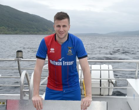 Liam Polworth scored Caley Thistle's second against Dunfermline.