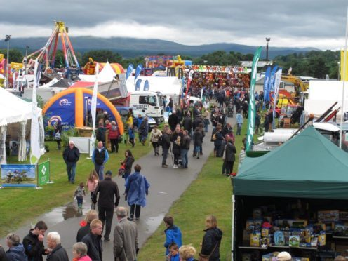 The Black Isle Show will take place on Wednesday August 1 and Thursday August 2 this year