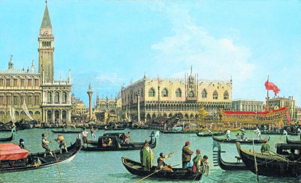The Bacino di San Marco on Ascension Day