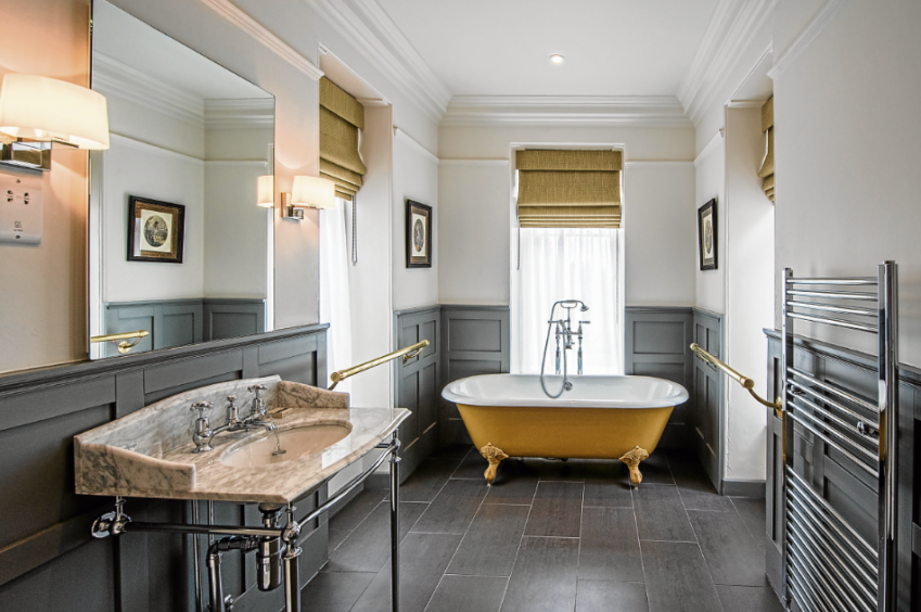 Douneside offers luxury accommodation