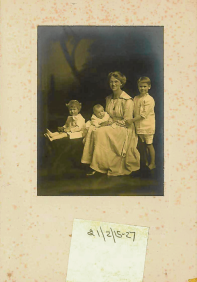 Lady MacRobert and her sons