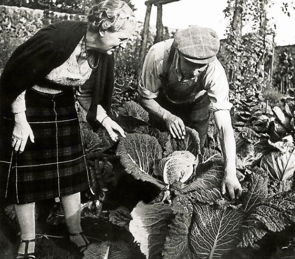 Lady MacRobert had a keen love of gardening